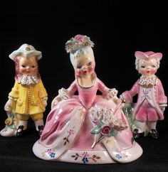 """Josef Originals of California - set """"Louis XV"""" """"Marie Antoinette"""" """"Joseph II"""" Vintage Josef Originals from 1950's or earlier. From my own private collection."""