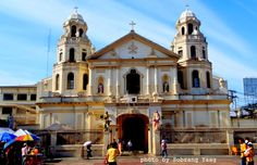 iHike-iTravel | The Philippines: Quiapo Church | The House of Black Nazarene Black Nazarene, Manila Philippines, John The Baptist, Mansions, Architecture, House Styles, Building, Tourism, Drawing