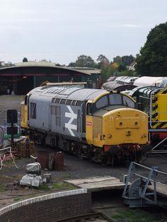 BR 37/9 number 37906 in Kidderminster yard (24/09/2011) | Flickr - Photo Sharing!