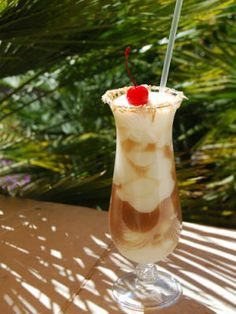 Kokopelli Colada: ¾ oz. coconut rum - ¾ oz. Cabana Bay Vanilla Spice Rum  ½ oz. dark rum - 8 oz. pina colada frozen drink mix  6 oz. crushed ice - 1 tbsp. honey - Garnish: maraschino cherry. Combine all ingredients in a blender. Blend until smooth. Pour into a glass and garnish with a maraschino cherry.