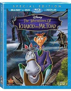 Free The Adventures Of Ichabod And Mr. Toad Blu-ray, DVD + Digital Copy: Get this movie Free for 900 Disney Rewards… #coupons #discounts
