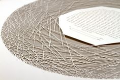 The NEST papercut ketubah / wedding vows by RuthMergi on Etsy
