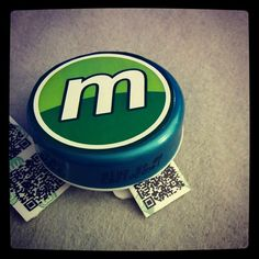 My little #Munzee container. Little plastic mints container upcycled to fit 100 mini-zees. #DIY http://ift.tt/1dqqVwl