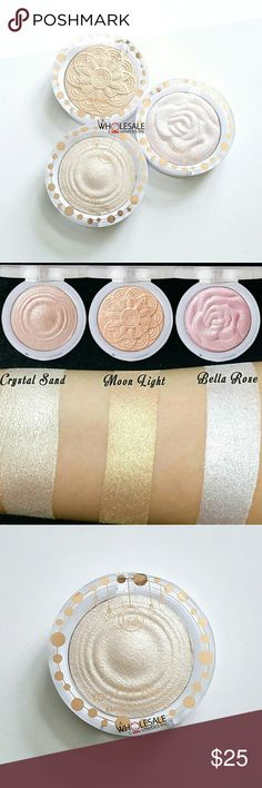 3x Jcat You Glow Girl Baked Highlighter YGG104-106 Set of 3 J.Cat You Glow Girl Baked Highlighters, 0.30oz (8.5g) each - All Brand New & Sealed   * Crystal Sand #YGG104 * Moon Light #YGG105 * Bella Rose #YGG106  Add a soft focus multidimensional glow to your highlight routine with J. Cat's newest line of smooth textured, highly pigmented baked highlighters. J. Cat Beauty Makeup Luminizer