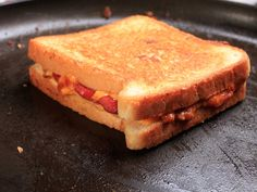Chili Cheese Dog Grilled Cheese