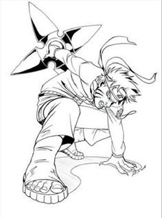 Naruto Coloring Pages Printable