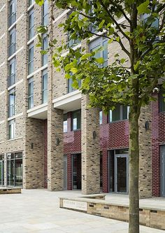 PRP Architects | Affordable Housing | Rubicon Court, Kings Cross Central, London Co Housing, Social Housing, Brick Architecture, Concept Architecture, Brick Facade, Rubicon, Affordable Housing, Apartment Design, Home Projects