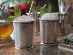 Mint Juleps aren't just for the Kentucky Derby. Damaris makes them perfect for any party with her pitcher of perfection. No gawdy hat required.