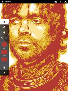 Tyrion Illustration with Nomad Mini 2 by Brian Yap, via Behance