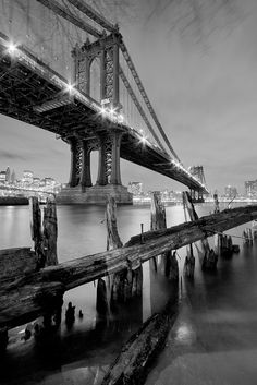 The Manhattan Bridge, NYC,