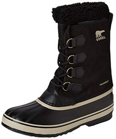 Sorel - Men's 1964 Pac Nylon Snow Boot for Winter - Shoosly Nylons, Cool Boots, Waterproof Boots, Winter Boots, Casual Shoes, Cool Things To Buy, Footwear, Snow Boot, Pairs