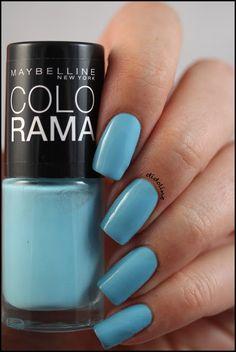 Gemey Maybelline - cool blue