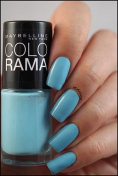 Gemey Maybelline - cool blue