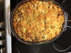 Makaronilaatikko - with a twist Quiche, Cauliflower, Macaroni And Cheese, Chili, Pasta, Koti, Vegetables, Breakfast, Ethnic Recipes