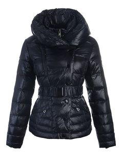 233.00 pink moncler vest,Doudoune Moncler Vest Femme Col Double Noir  Soldes Nice monclercheapforsa. Manteau ... 228959c0d9e