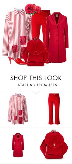 """""""Understated is Overrated"""" by peeweevaaz ❤ liked on Polyvore featuring MIKIO SAKABE, Golden Goose, Aspesi, MANU Atelier, Attico, outfit, red, polyvoreeditorial and polyvorefashion"""