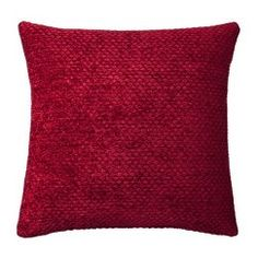 Threshold™ Westfield Chenille Toss Pillow - Red
