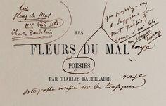 Pruebas de imprenta de 'Las flores del mal', según figuran en la web de la editorial Les Saints Pères..Baudelaire corrigió durante una década 'Las flores del mal' | Cultura | EL PAÍS