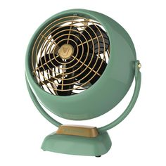 With its unique combination of power, aerodynamics and style, the Vornado Small Vintage Air Circulator Fan delivers whole room air circulation for smaller rooms. This fan features the original classic design from its initial 1945 release. Vornado Fan, Decoration Ikea, Decorations, Personal Fan, Vintage Fans, Vintage Style, Vintage Room, Vintage Kitchen, Vintage Homes