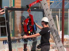 Windows installation. #windows #glass Construction, Windows, Glass, House, Building, Drinkware, Home, Corning Glass, Homes