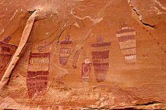 Great Gallery, Horseshoe Canyon, Canyonlands National Park