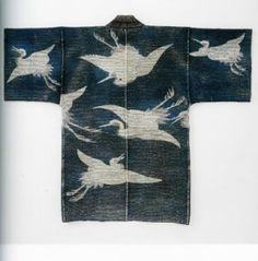 Hanten Happi Coats Japanese EDO Sashiko Tsutsugaki | eBay: