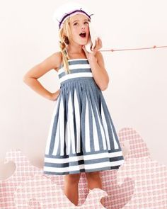 Seaside Dress by Helena and Harry - Girls