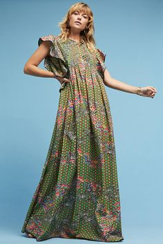 Slide View: 2: Versailles Maxi Dress