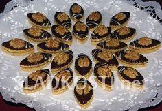 Ořechovo mandlové oválky