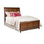 Caris Sleigh Bed Queen