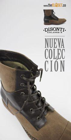 www.thecloset.co Nueva colección de botas para Hombre marca • Disonti • Red De Diseñadores Independientes