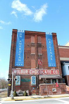 Wilbur Chocolate in Lititz, PA