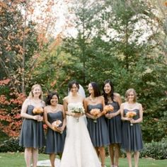 This gorgeous wedding us so full of great inspirational ideas for a stunning fall fete!