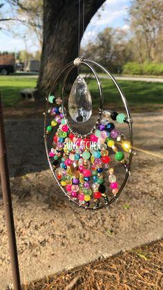 Fun Diy Crafts, Summer Crafts, Crafts To Make, Crafts For Kids, Beaded Crafts, Wire Crafts, Jewelry Crafts, Garden Crafts, Recycled Garden Art