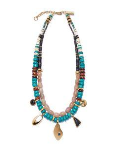 Lizzie Fortunato Turq Trail Necklace