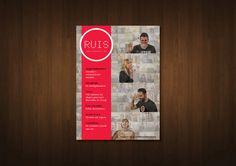 Ruis Magazine - editie 2 by Marjolein Holwerda, via Behance
