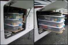 44 Cheap And Easy Ways To Organize Your RV/Camper. Now I just need a RV/camper. Lol!