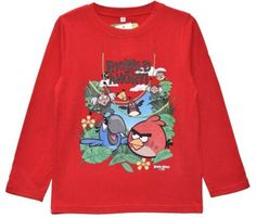Boys' Angry Birds Rio Long Sleeve T-Shirt - Red  #canadaonline #shoppingonline #canada #clothes #onlinestore #instagram #fashion #fashionista #instalikes #shoppingday