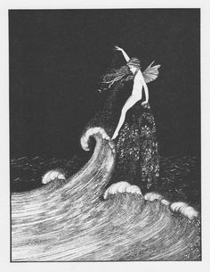 Ida Rentoul Outhwaite 'Flower of the Foam' 1931 | eBay