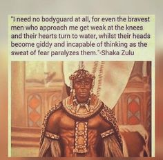 Our Armed forces are inspired by his! Black History Books, Black History Facts, Zulu Warrior, Hip Hop, Pan Africanism, Native American Images, African Royalty, African Proverb, African Tribes
