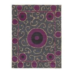Plum Koniya Tibetan Carpet | MADELINE WEINRIB