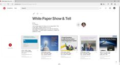We're using Pinterest to share articles and for our new swipe file. Here's why Pinterest works and why we're using it. Epson Ecotank, Swipe File, Technical Writing, Online Registration, Start Writing, Show And Tell, White Paper