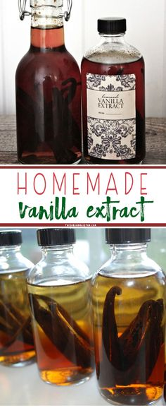 Rich and flavorful homemade vanilla extract is easy to make. Use our free label and share some as a gift with friends and family.