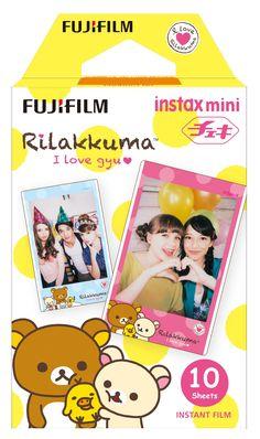10 Fuji Instax Mini 8 Film Rilakkuma Frame Design for Mini 90 /Mini Fujifilm Instax Mini Camera, Fuji Instax Mini, Instax Mini Film, Fujifilm Instax Mini, Mini Photo Albums, Instant Film Camera, Little Twin Stars, Camera Case, Rilakkuma