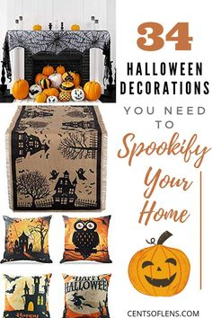 With the end of the year fast approaching, you know what festival is about to drop by? HALLOWEEN, of course! And that means Halloween décor! Get ready for the spooookiest time of the year! Apartment Must Haves, Better Life, Halloween Decorations, Gal Pal, Girl Gang, Holiday, Blogging, Boss, Hacks