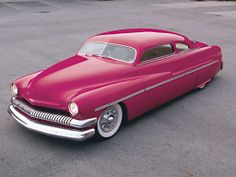 1951 mercury coupe hot rod