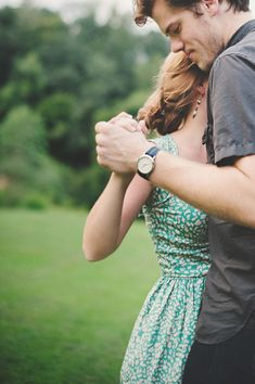 Retro Southern Engagement, dancing, vintage blue dress, gray shirt, couple love this picture and the love it shows Engagement Couple, Engagement Pictures, Engagement Shoots, Wedding Engagement, Wedding Pictures, Country Engagement, This Is Love, All You Need Is Love, Couple Photography