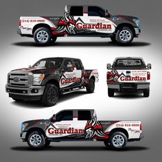 Create an Awesome Corporate Vehicle design by J.Chaushev