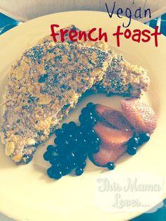 Vegan French Toast Recipe with Cashew Banana Filling