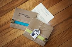recycled cardboard sleeves, photography packaging